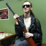Стрелковый клуб Золотая пуля. поэт Александр Меркушшев