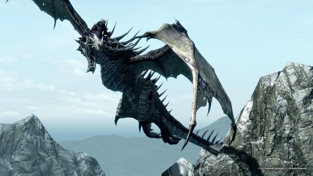 Skyrim Драконы и Библия