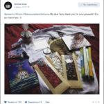 Михаэль Драу благодарит поклонников за подарки. Книга Рассказы поэт Александр Меркушев