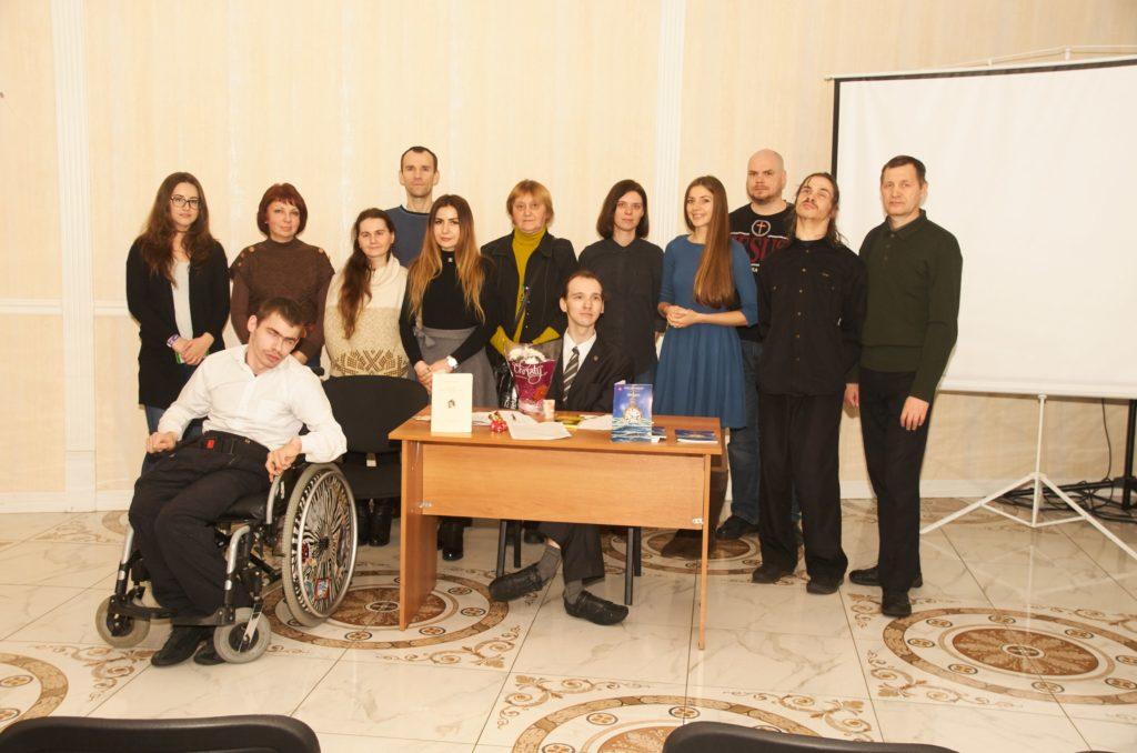 Презентация в Доме писателя. поэт Александр Меркушев
