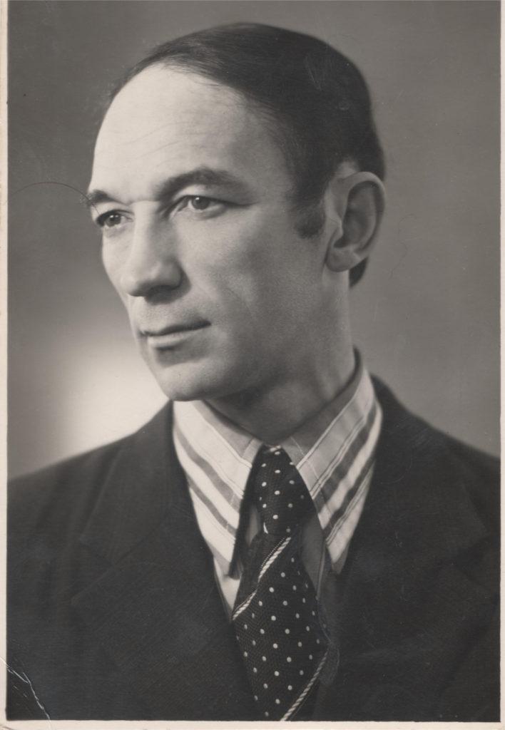 Дедушка. поэт Александр Меркушев