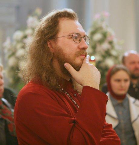 священник Константин Пархоменко. поэт Александдр Меркушев