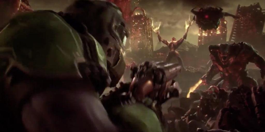 DOOM: Eternal E3 2018 поэт Александр Меркушев