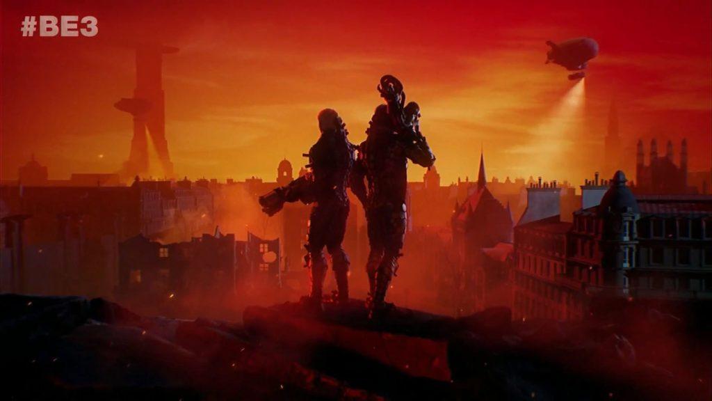 Wolfenstein: Youngblood E3 2018 поэт Александр Меркушев