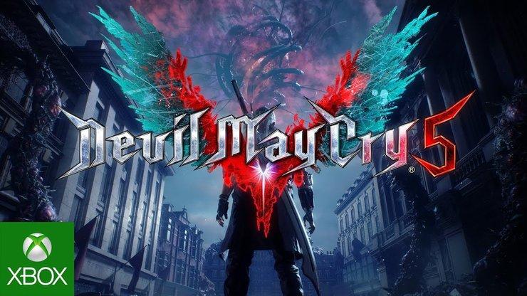 Devil may cry 5 E3 2018 поэт Александр Меркушев