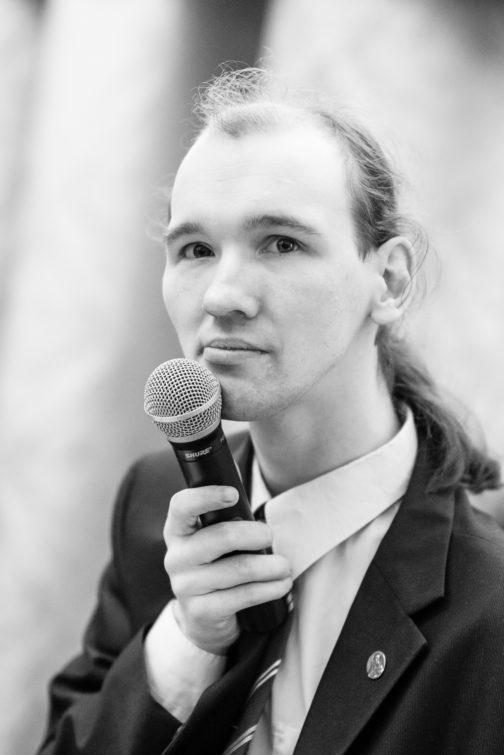 Выступление в СПБГПМУ. поэт Александр Меркушев