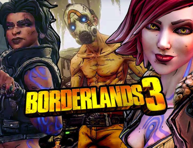 Borderlands 3 E3 2019 поэт Александр Меркушев