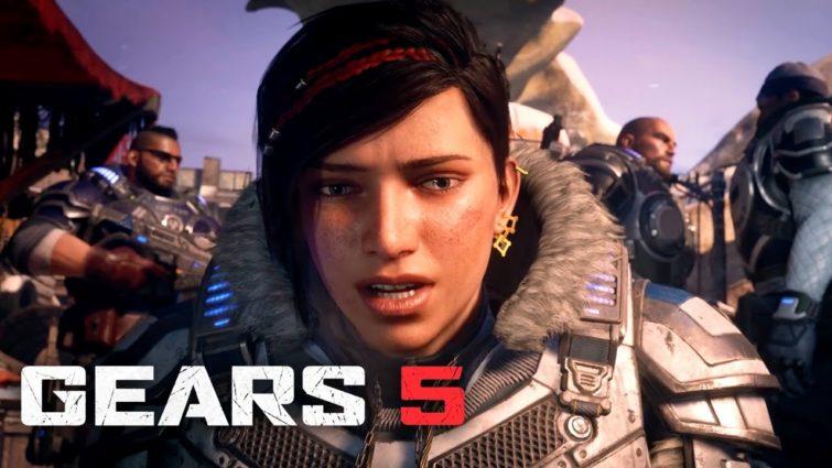 Gears 5 E3 2019 поэт Александр Меркушев