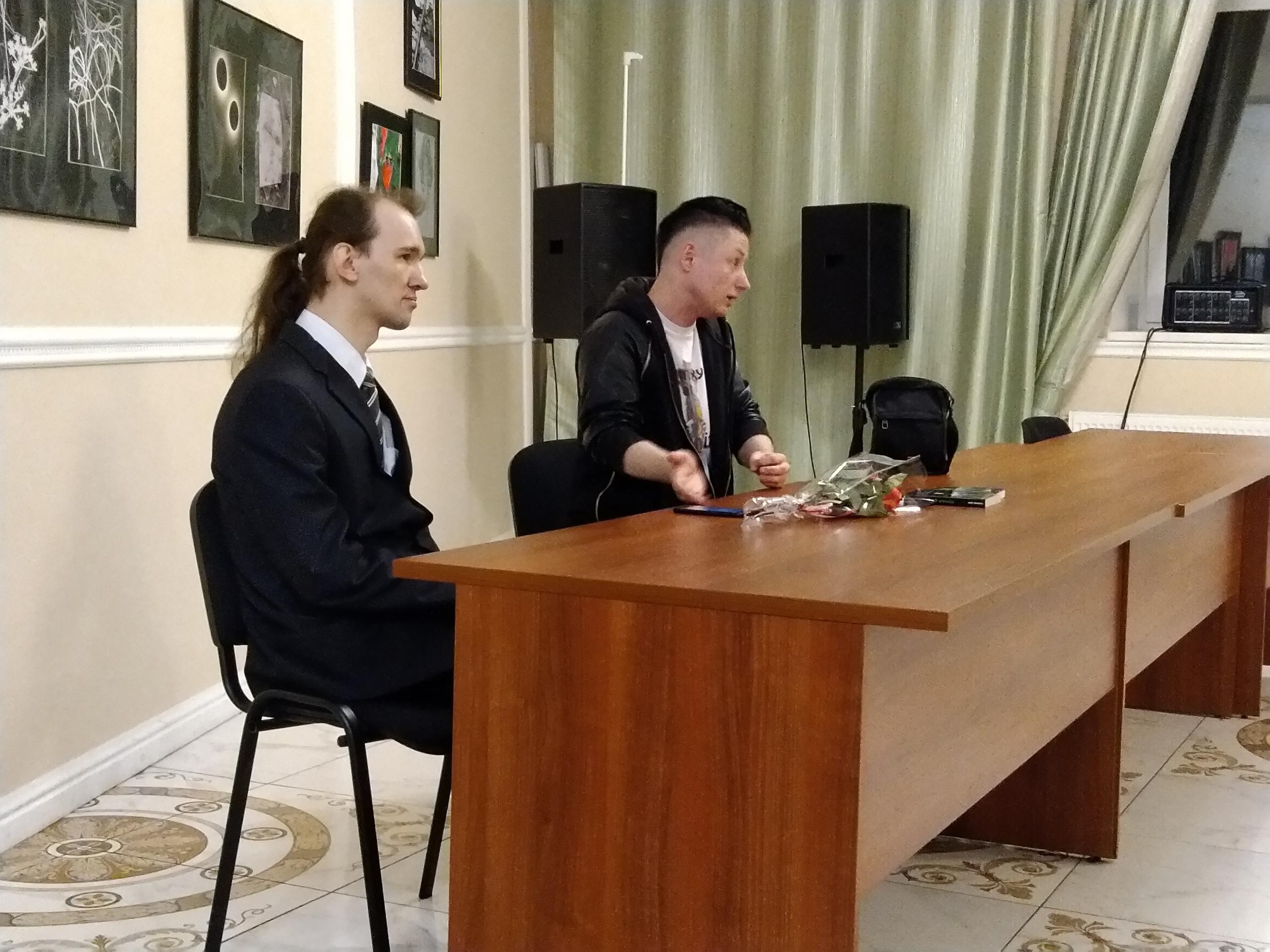 Михаэль Драу в Доме Писателя